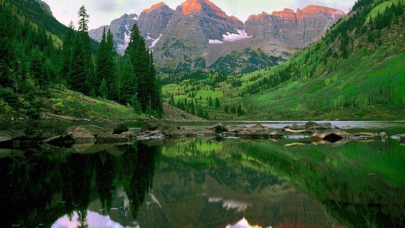 Maroon Bells bei Aspen, Colorado © Diamir