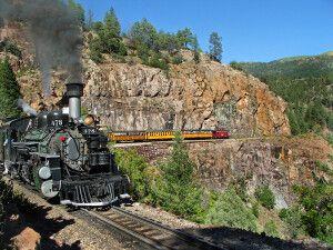 Durango & Silverton Narrow Gauge Train, Colorado