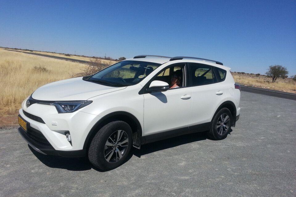 Mietwagen in Namibia, Toyota RAV
