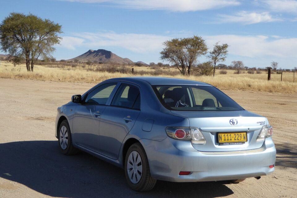 Mietwagen in Südafrika, Toyota Corolla