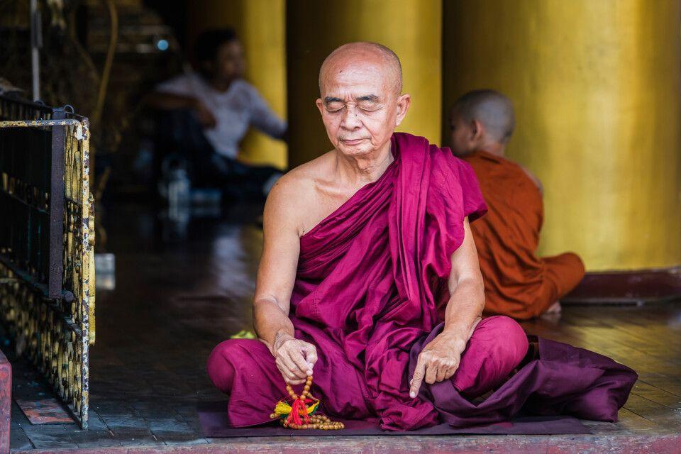 Buddhistischer Mönch in Myanmar