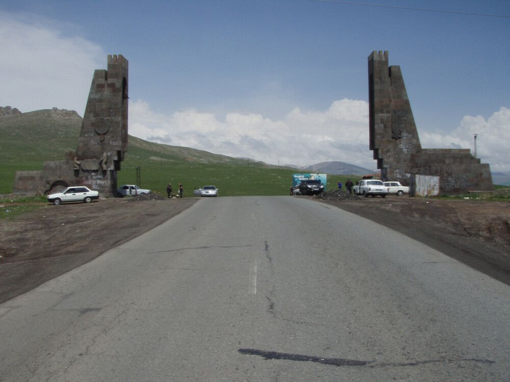 Am Vorotan-Pass