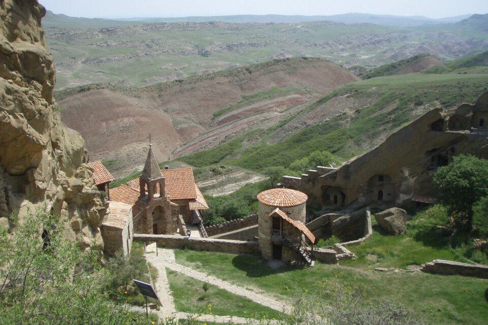 Höhlen Kloster David (Dawid) Garetscha