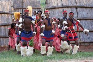 Traditioneller Tanz der Swasi