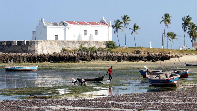 """""""Fortim de Santo António"""", Ilha de Moçambique © Diamir"""