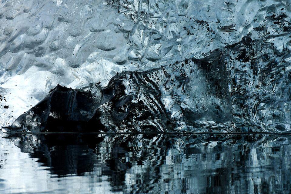 Kleines Eis: Eisdetail