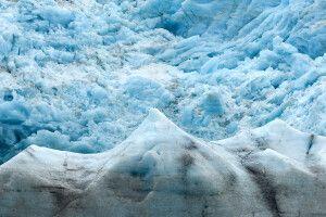 An der Abbruchkante des Nordenskiöld-Gletscher