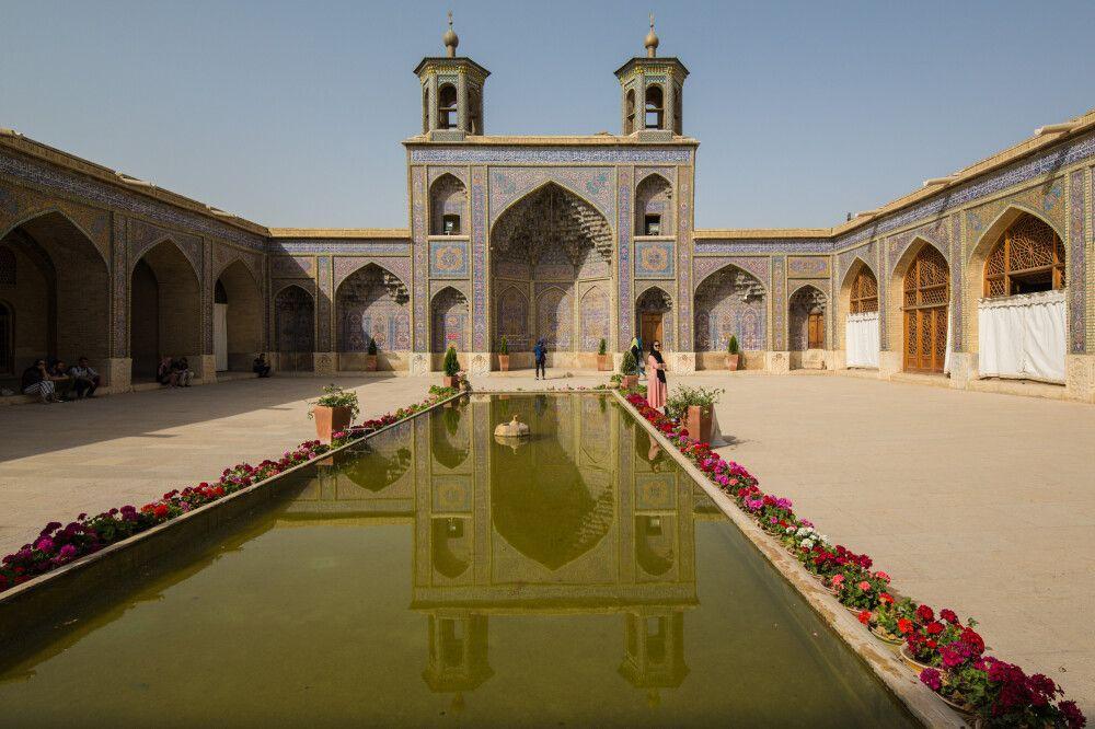 Nasir-ol-Molk-Moschee in Shiraz