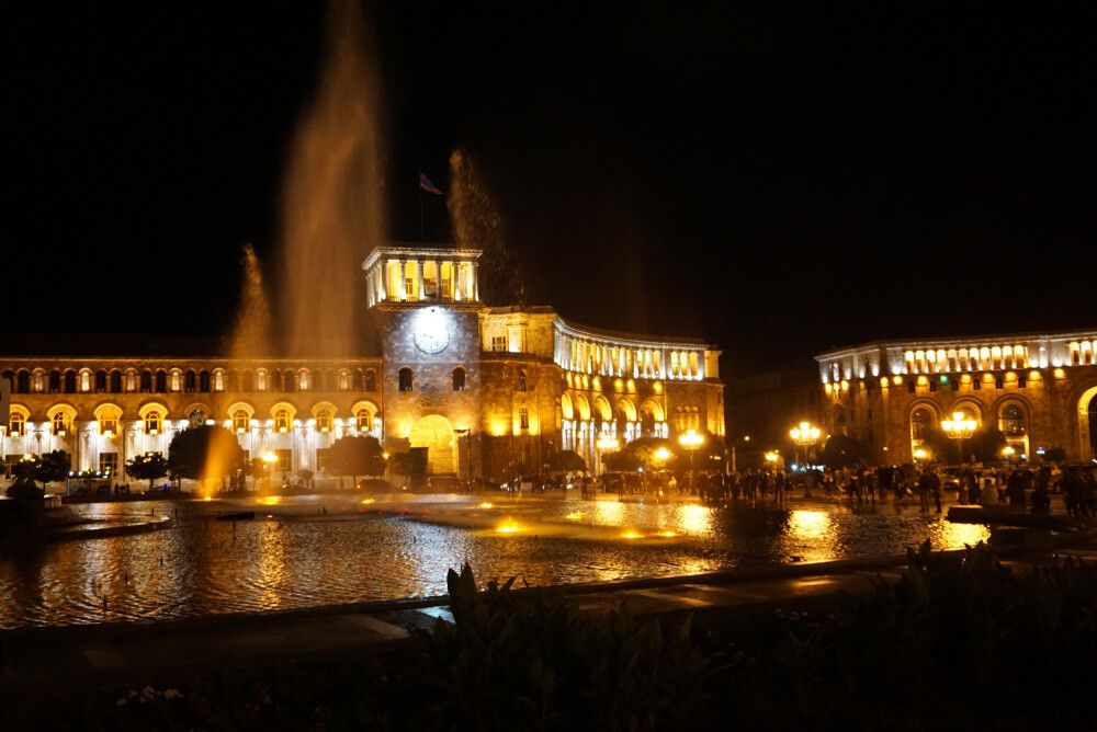 Jerewan – Platz der Republik