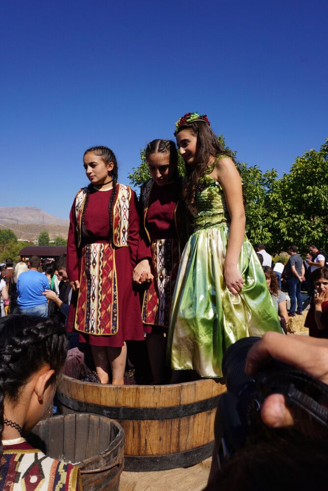 Weinfest in Areni