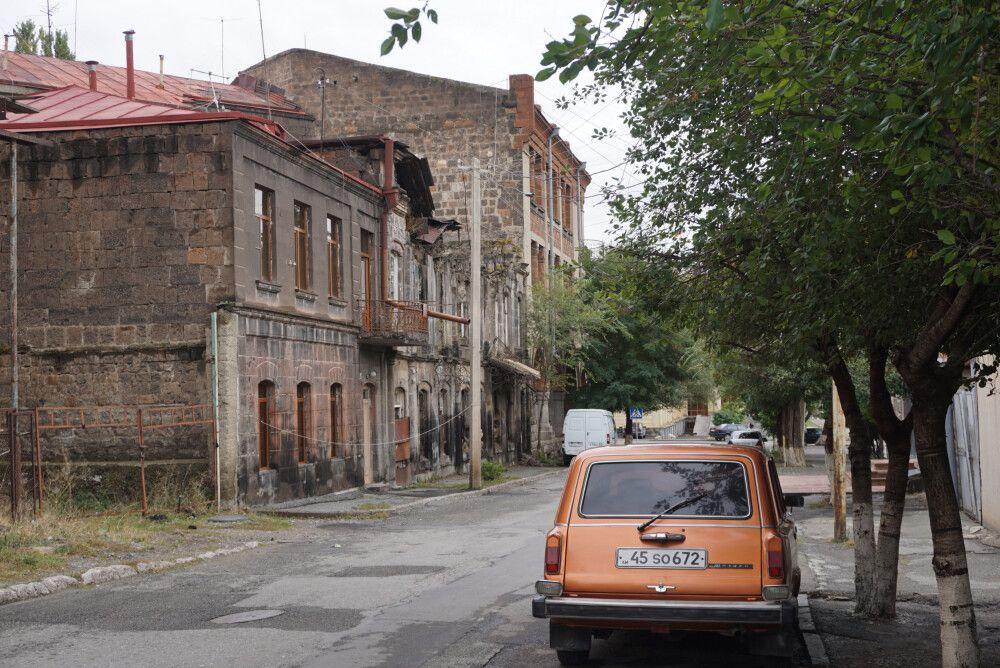 Straße in Gyumri