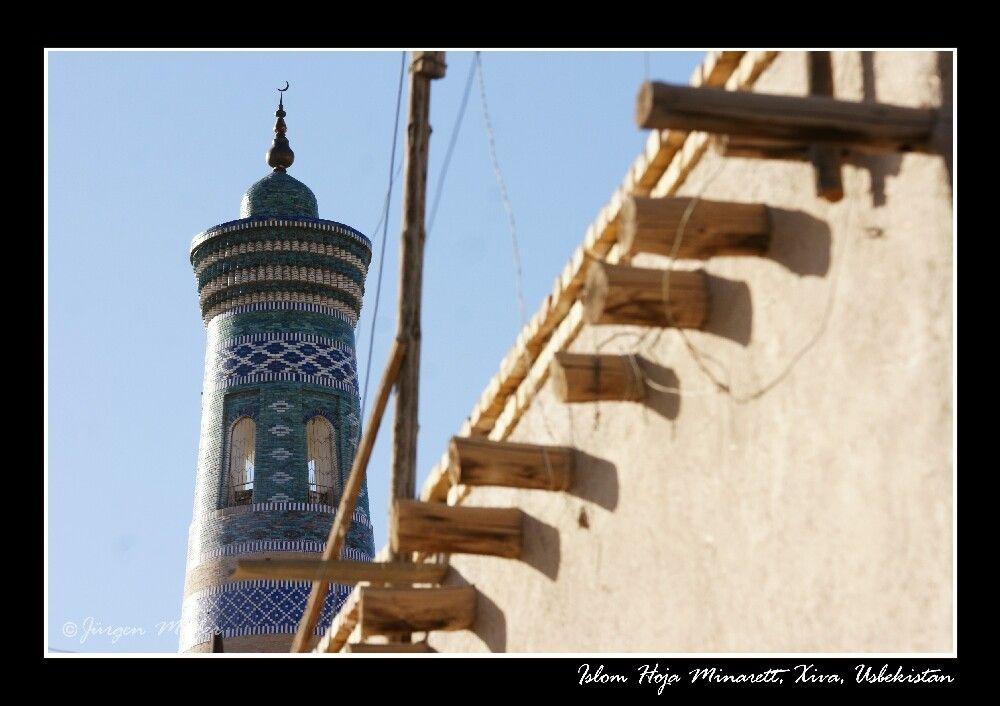 Islam Hoja Minarett in Chiwa