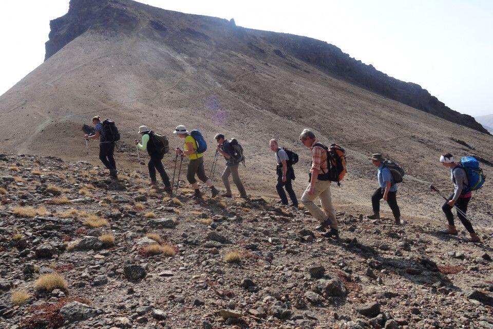 Aufstieg Aragats