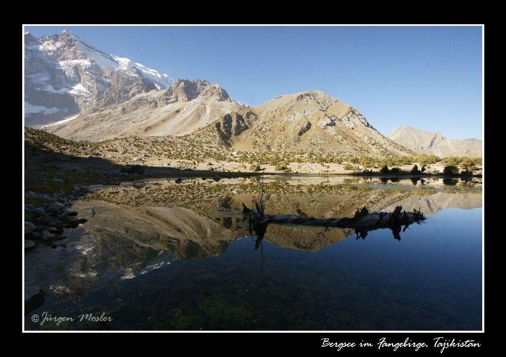 Bergsee im Fangebirge