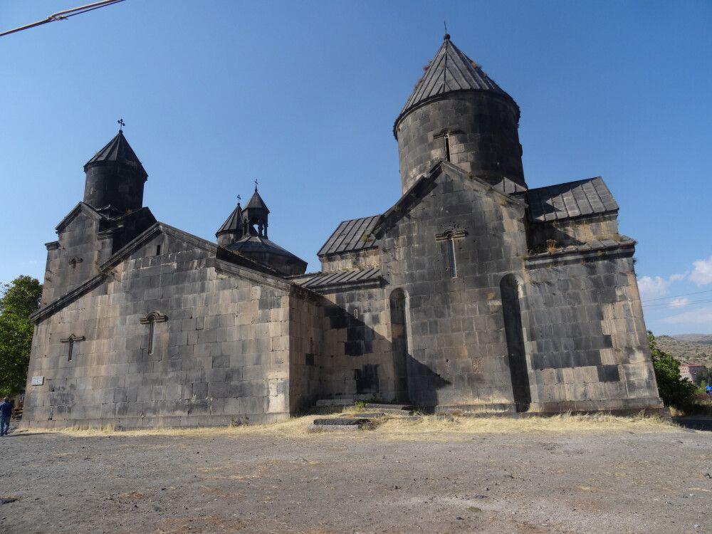 Kloster und Kirche Tegher (Byurakan) Westarmenien