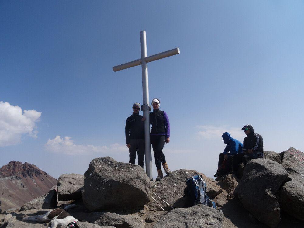 Westgipfel Aragats