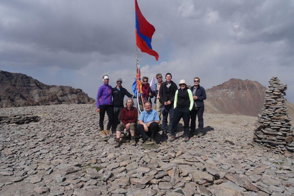 Gipfelbild Aragats