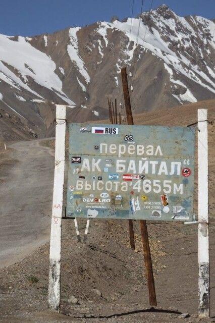 Ak-Baital-Pass 4655 m