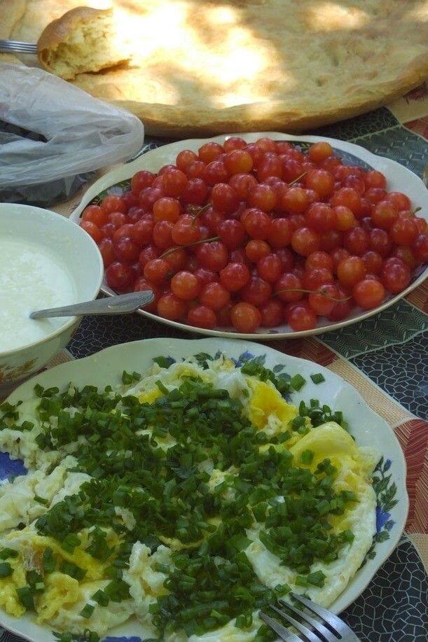 Mahlzeit im Pamir