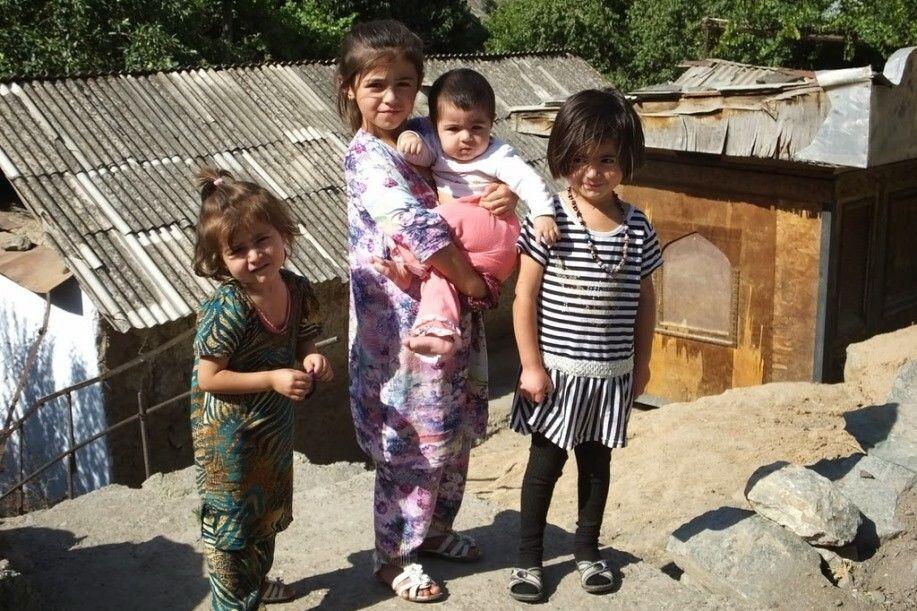 Kinder im Pamir