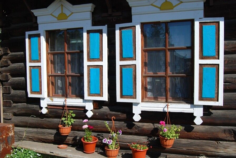 Freundliche Hausfassade