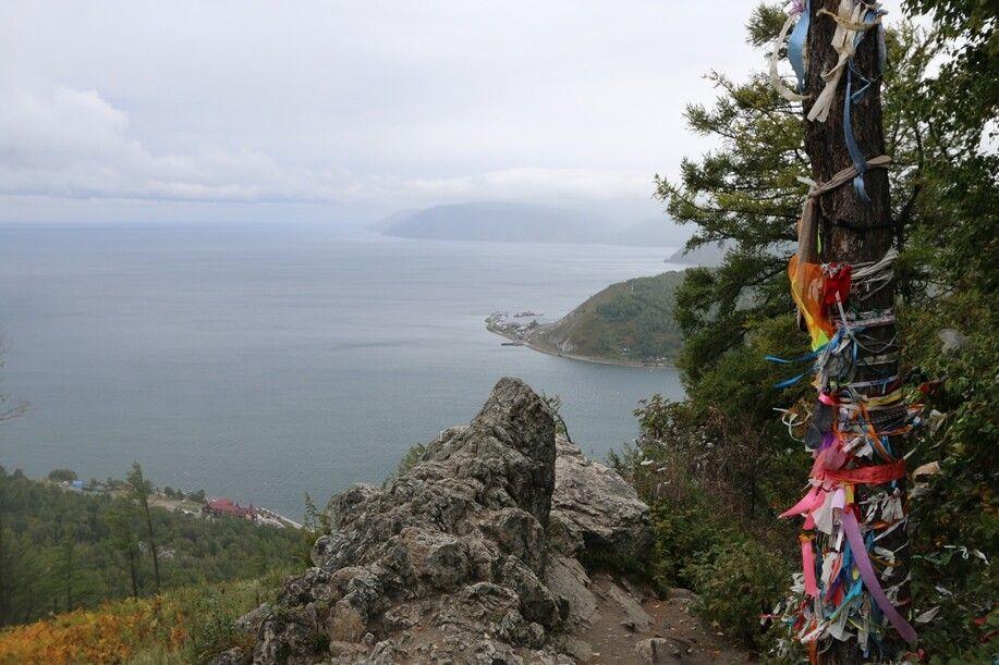 Der Baikal von oben