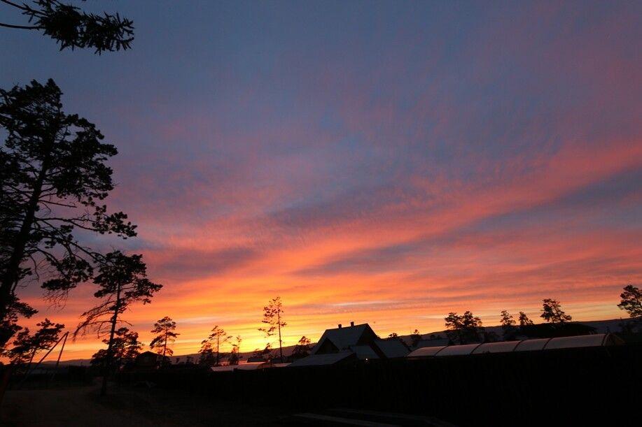 Sonnenuntergang auf Olchon