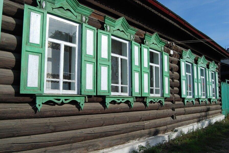 Verzierte Fassaden