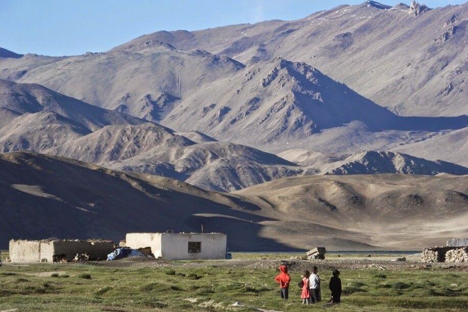 Kinder im Pamir Hochland