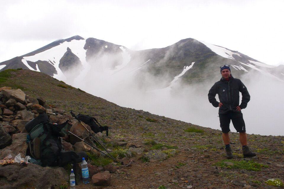 Passüberquerung Kamtschatka