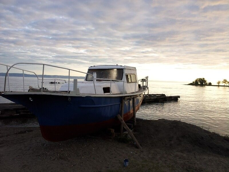 Sonnenuntergang am Baikalsee