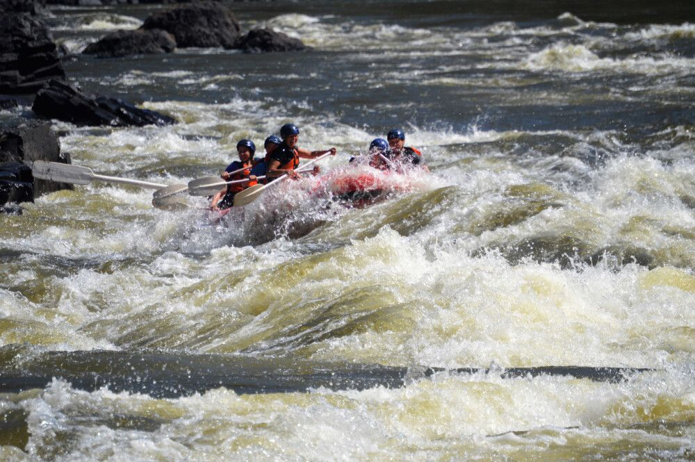 Rafting: optinale Aktivität in Victoria Falls