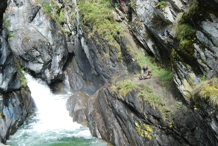 Wasserfall bei Arschan