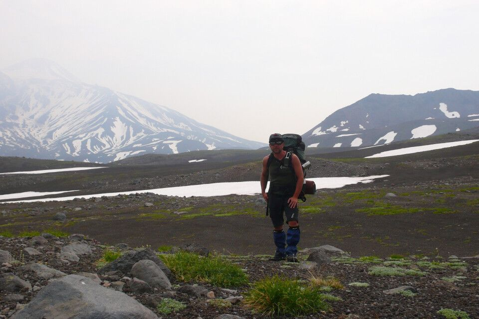 Trekking mit Rucksack