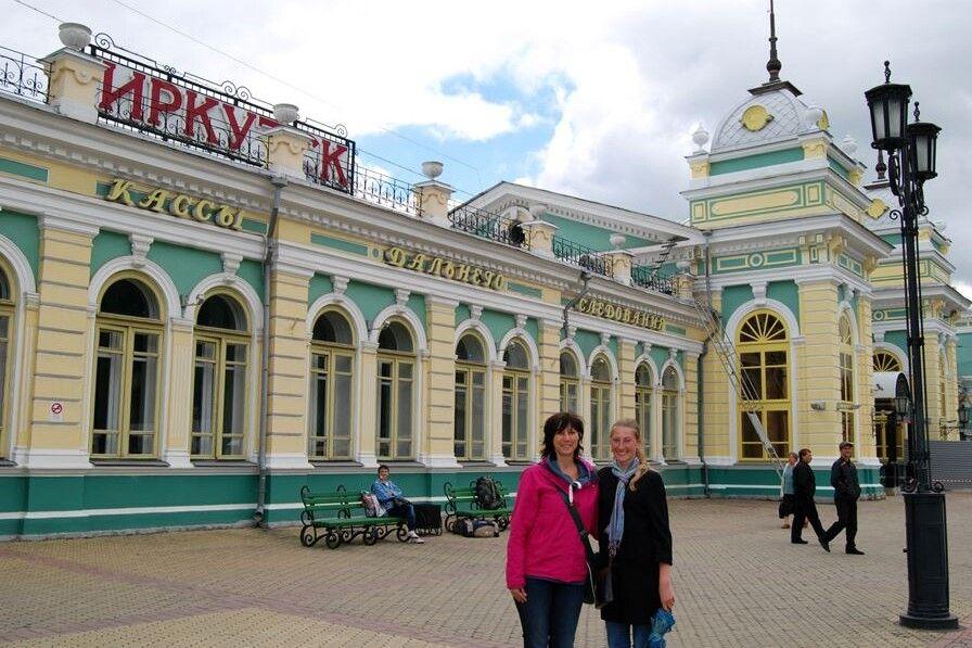 Bahnhof Irkutsk