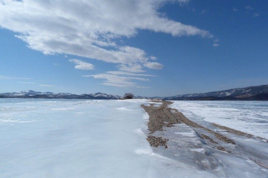 Winterzauber Baikalsee