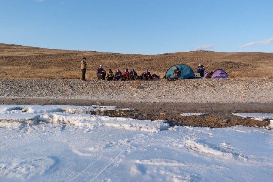 Campingplatz am Ufer