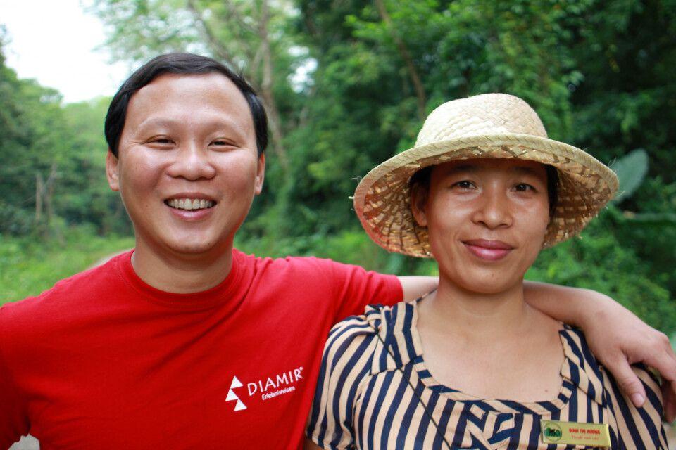 Im Cuc-Phuong-Nationalpark bei einer Führung durch die Primatenschutzstation