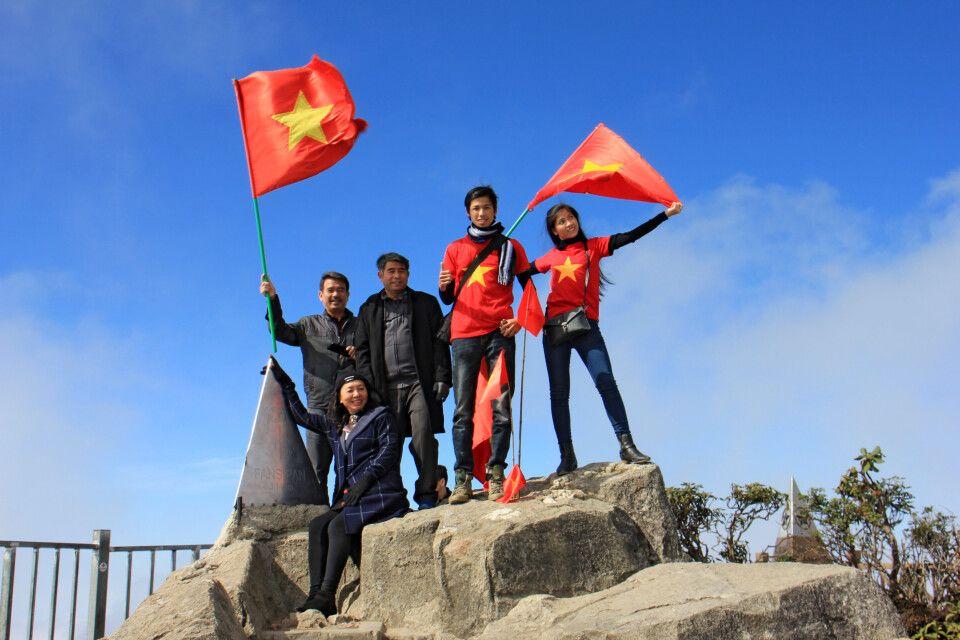 Auf dem Gipfel vom Fansipan