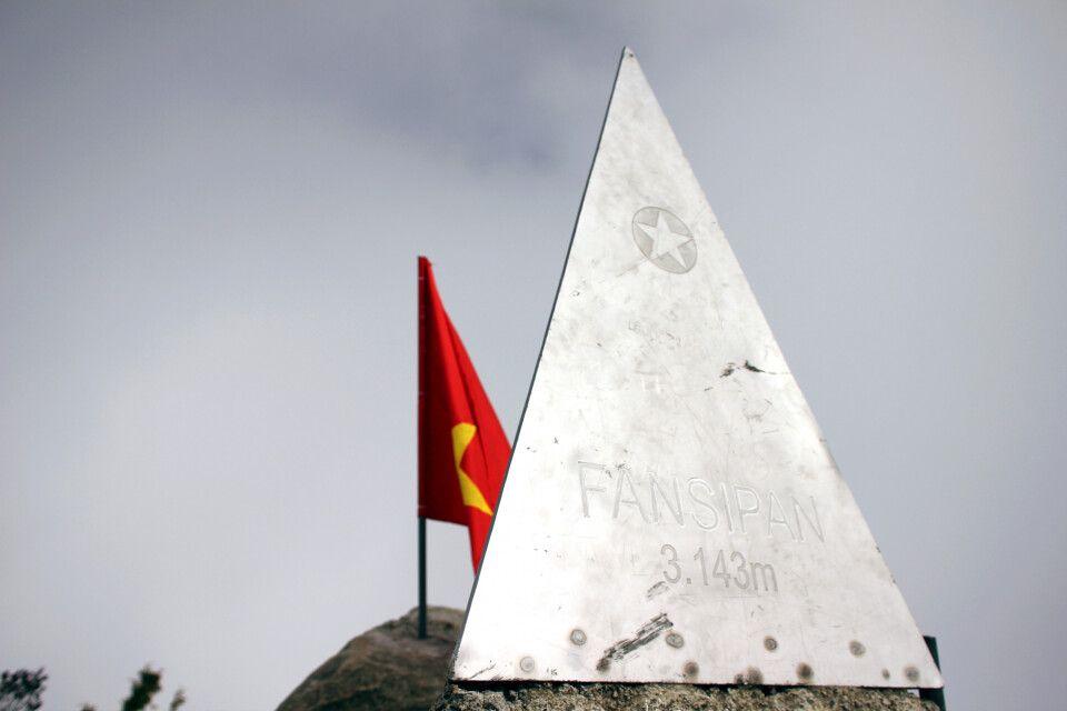 Gipfelpyramide auf dem Fansipan