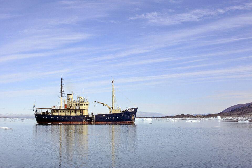 MS Malmö unterwegs in Spitzbergen