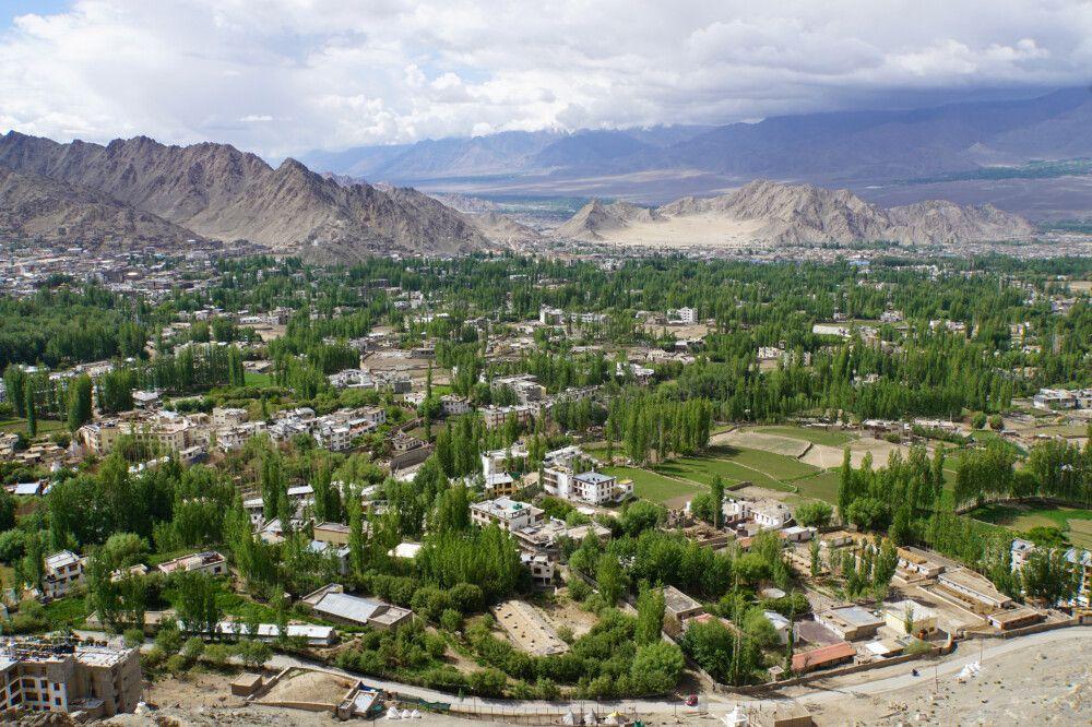 Zurück in der wunderschönen Oase am Indus Leh
