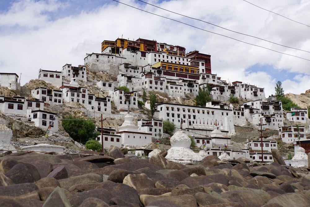Die Klosteranlage in Thiksey bei Leh