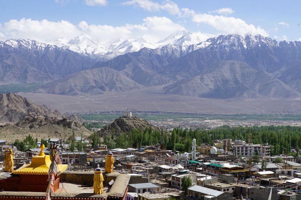 Leh – Ladakhs Haupstadt und Touristenzentrum
