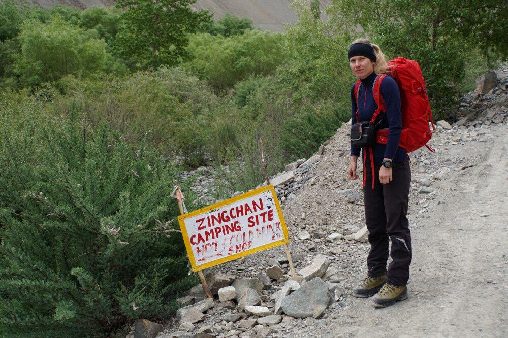Erster Trekkingtag nach Zinchen (3350m) geschafft