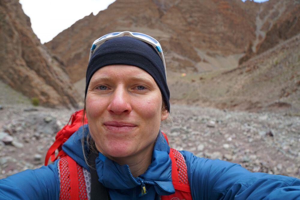 DIAMIR-Expeditionsleiterin Marianne Nimsch