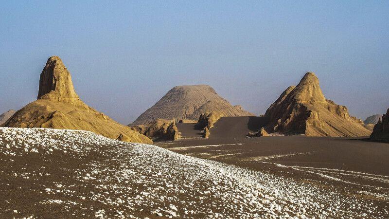 Wüste Dasht-e Lut – Felsformationen © Diamir