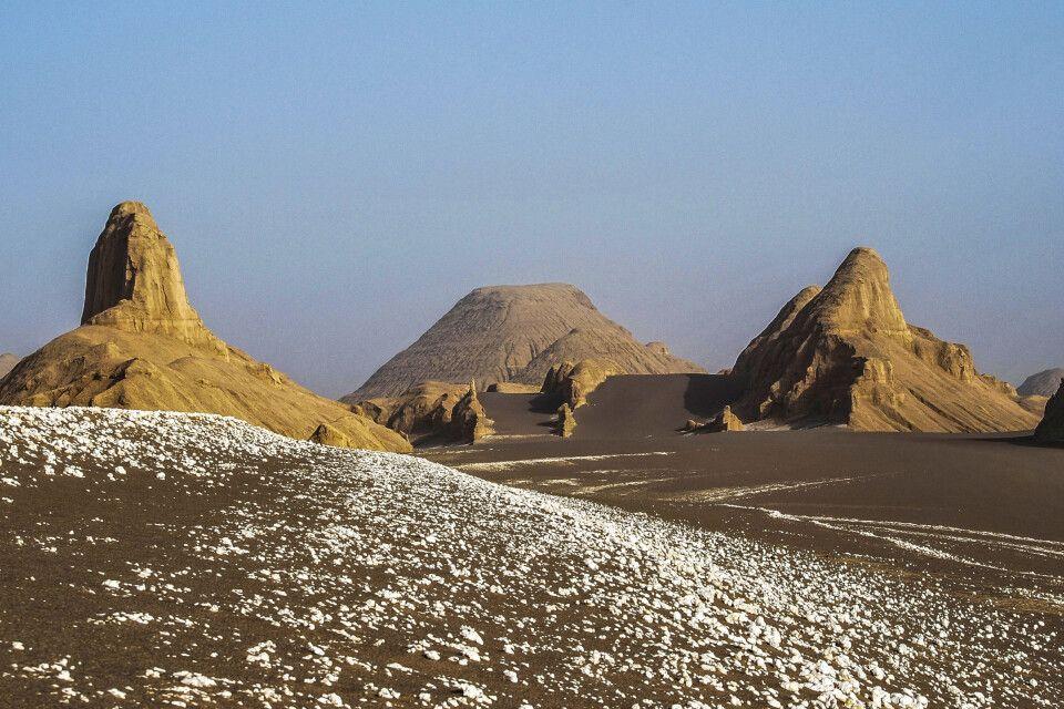 Wüste Dasht-e Lut – Felsformationen