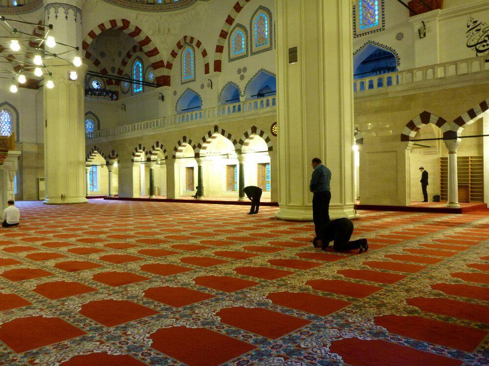 In der Moschee