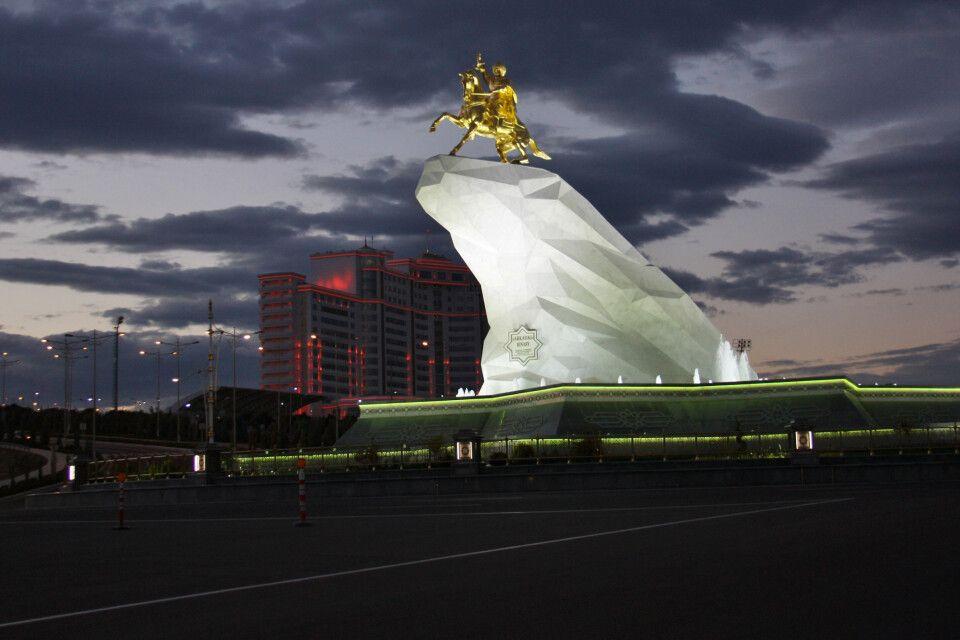 Denkmal in Ashgabat